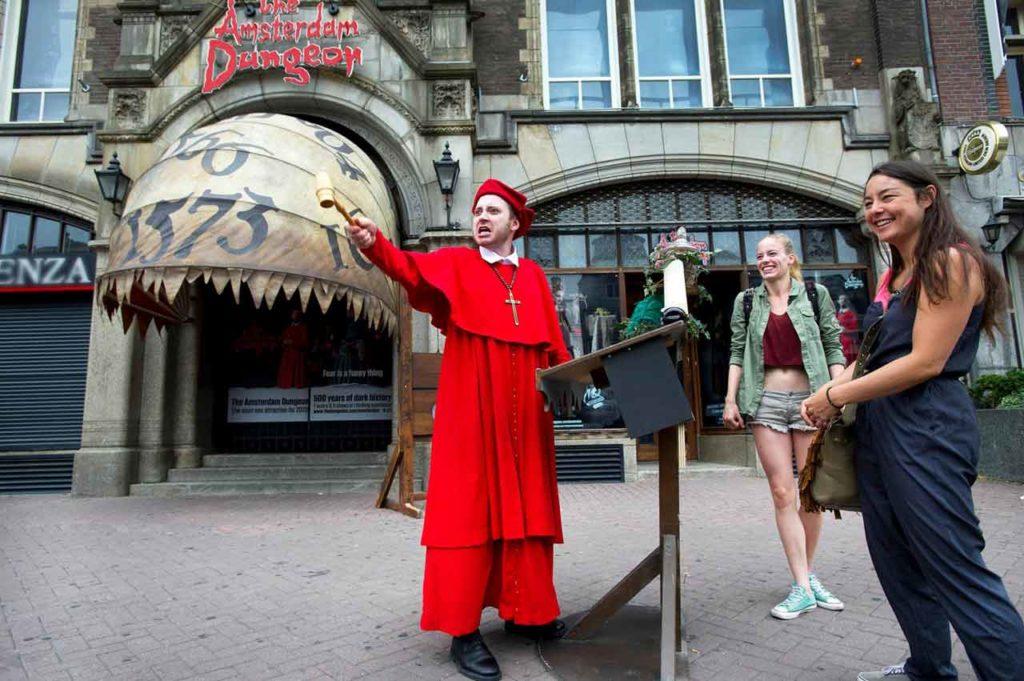 Visiter le Dunjeon à Amsterdam - Le donjon à Amsterdam