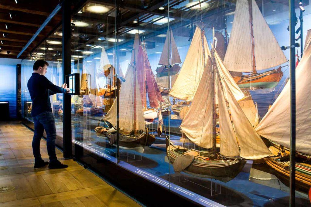 Visiter le musée maritime national à Amsterdam / Scheepvaartmuseum