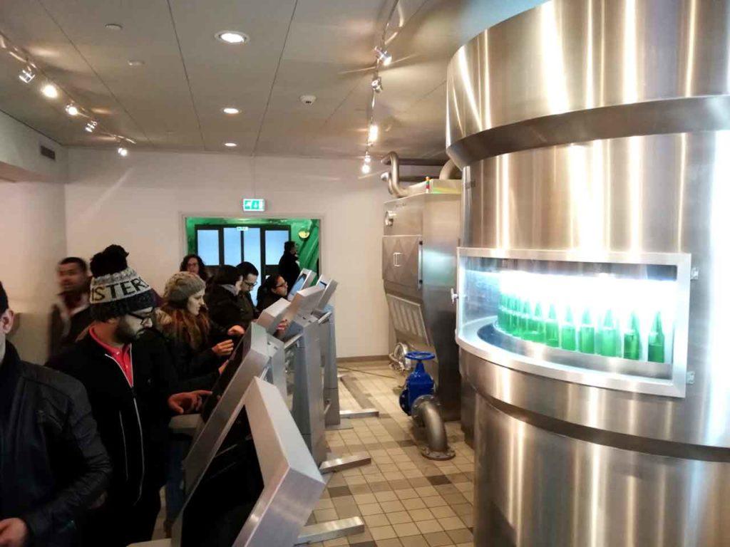 Visiter la Heineken Experience à Amsterdam