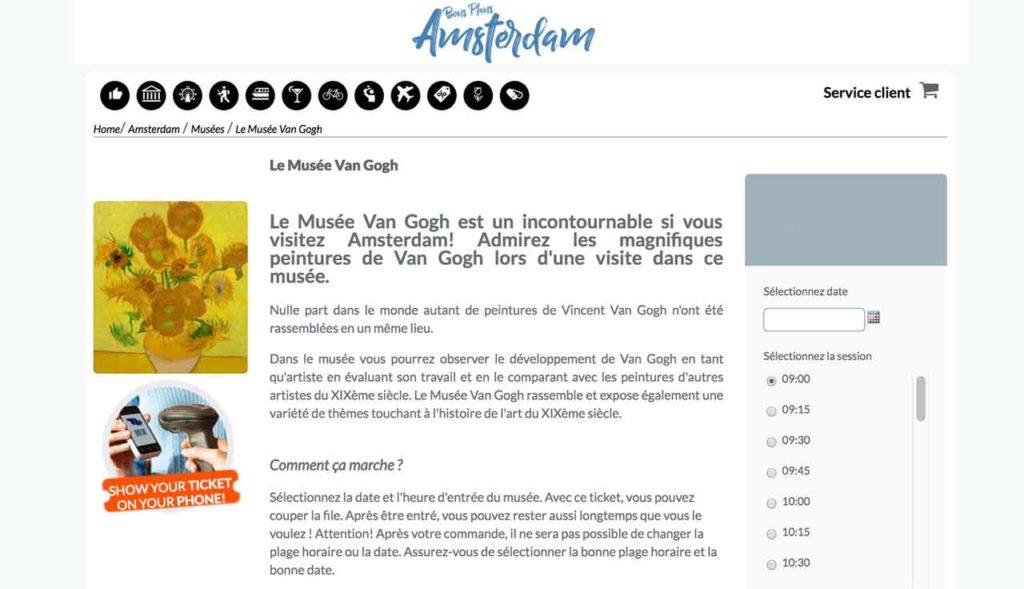 Musée Van Gogh Amsterdam : Prix d'entrée et billets coupe-file