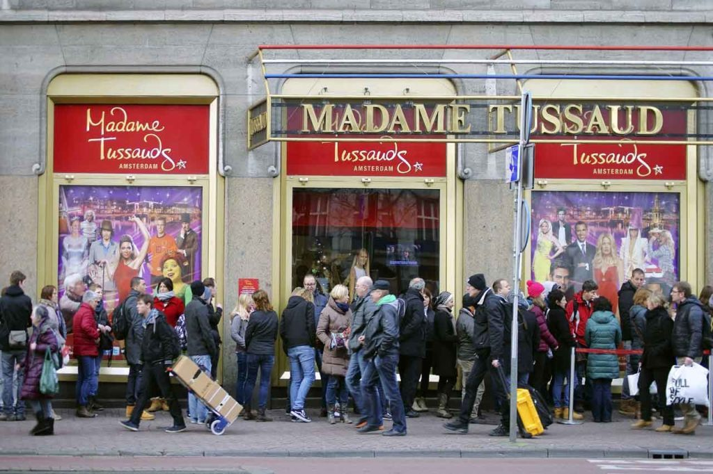 Prix Madame Tussauds Amsterdam