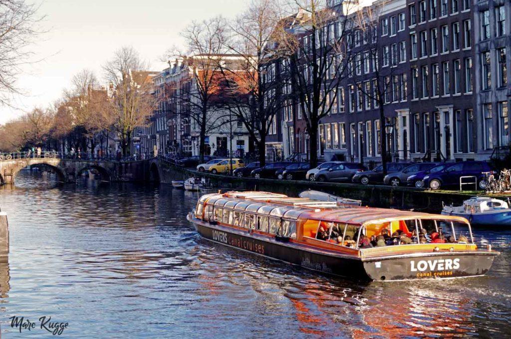 Excursions sur les canaux d'Amsterdam