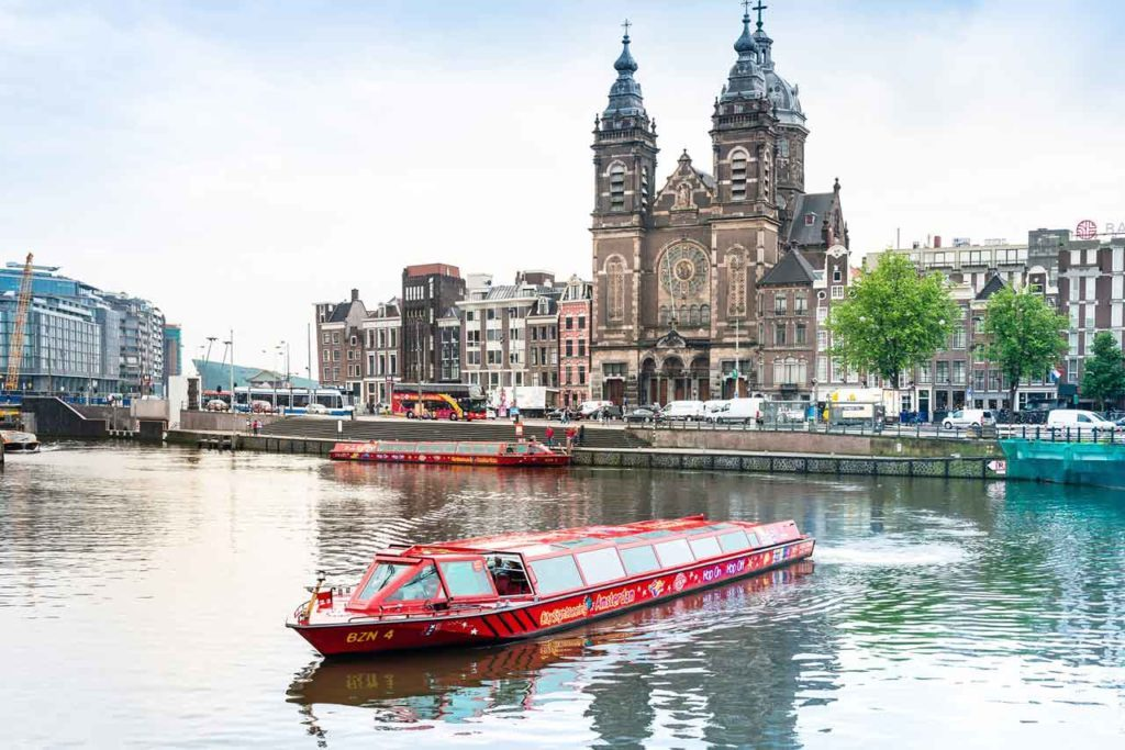 Excursion Hop-On Hop-Off sur le canal d'Amsterdam