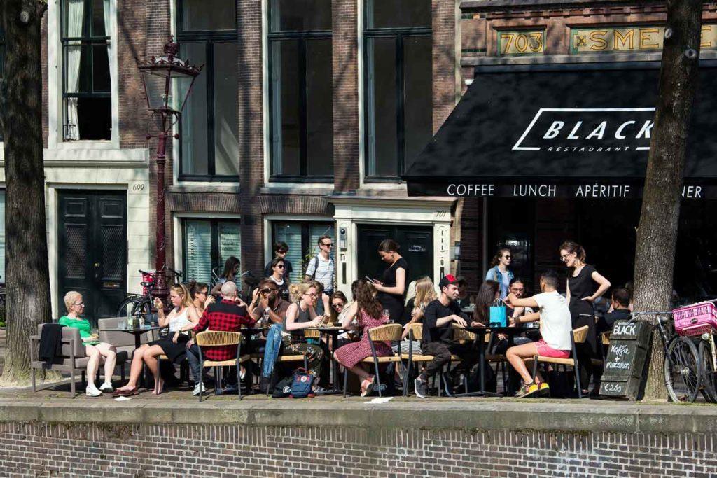 Pourboires et règles de comportement à Amsterdam, Pays-Bas