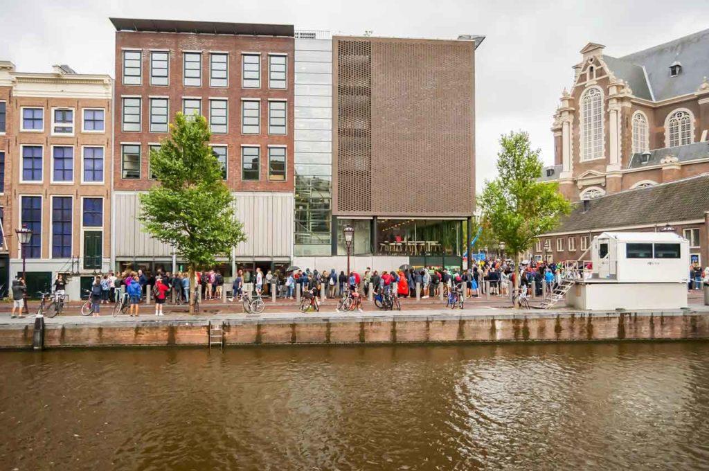 Visiter la Maison Anne Frank à Amsterdam